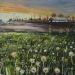 LR 45150 We Isolated And Waited As Summer Danced For Us 51x76cm £795