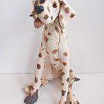 LR 45315 Sitting Spotty Dog h27cm £195
