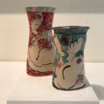 HR45362 HR28151 Karen Atherley Vases