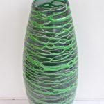 LR 37164 Tall Bound Vase green h 41cm 185