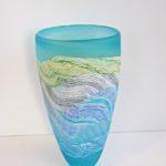 LR 43764 Spring Tides Med Tall Vase TP5 h25cm 165