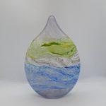 LR 45301 Grey Skies Small Teardrop Vase TP30 h20cm 105