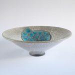 LR 46542 Bowl Ammonite Turquoise 8cm 195