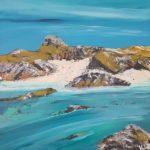 LR 46837 A Turquoise Sea Iona Morag Lloyds 35 x 35 cm 430